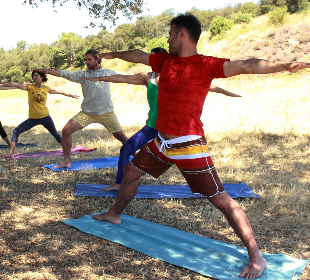 Outdoor Yoga in the Nature - Barcelona