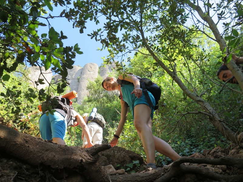 Yoga and Hiking Adventure Montserrat